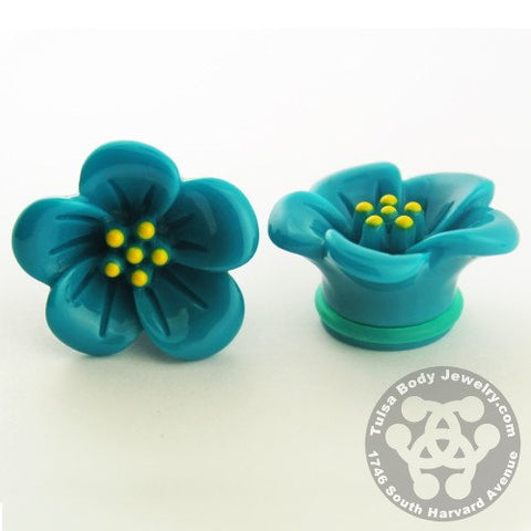 Plugs - Hibiscus Flower Plugs