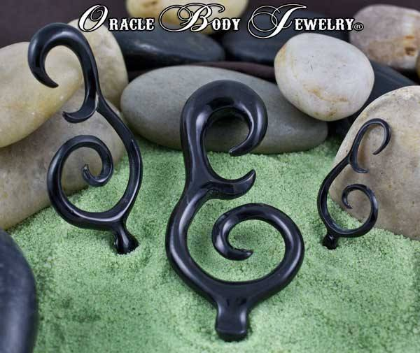 Horn Dew Drop Hangers by Oracle Body Jewelry