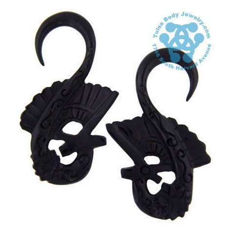 Horn Geisha Hangers by Oracle Body Jewelry
