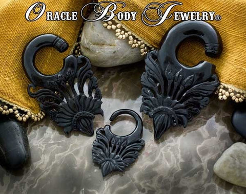 Horn Victoria Hangers by Oracle Body Jewelry