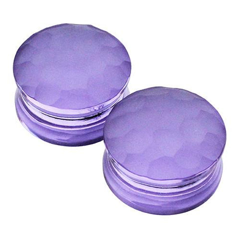 Plugs - Lavender Martelle Plugs By Gorilla Glass