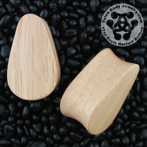 Maple Teardrop Plugs by Siam Organics