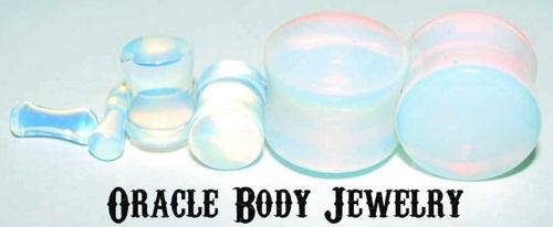 Opalite Plugs by Oracle Body Jewelry