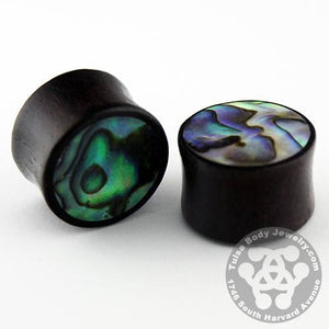 Raintree & Abalone Plugs by Siam Organics