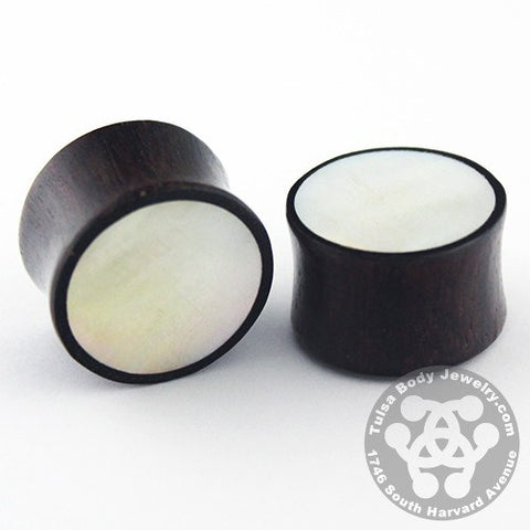 Raintree & Mother of Pearl Plugs by Siam Organics
