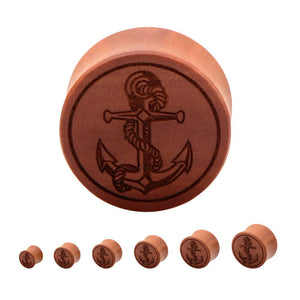 Saba Wood Anchor Plugs