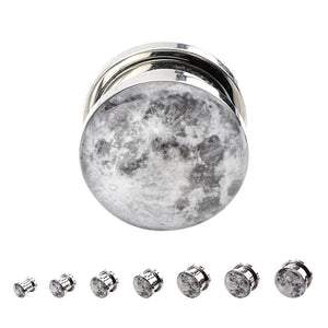 Screw-on Full Moon Plugs