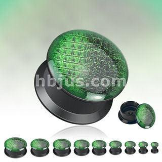 Screw-On Green Gatorskin Plugs