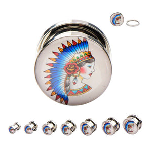 Screw-on Native Princess Plugs