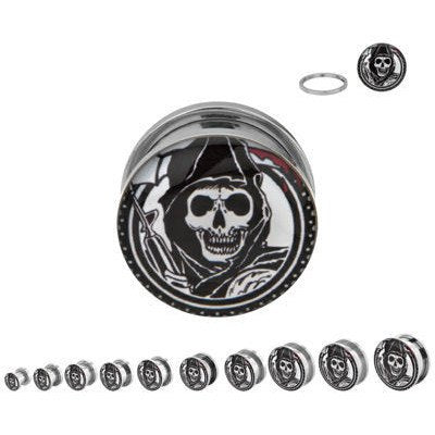 Screw-On Sons of Anarchy Plugs