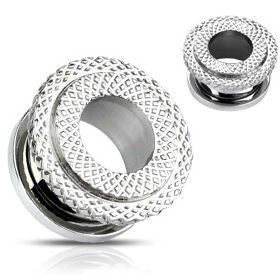 Screw-on Diamond Cut Tunnels