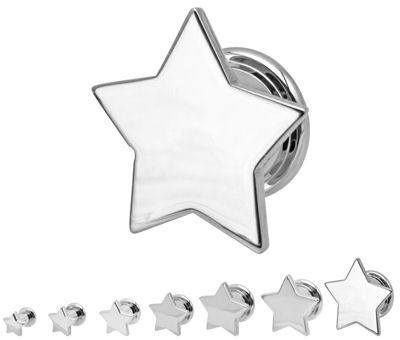 Screw-On Stainless Star Front Plugs