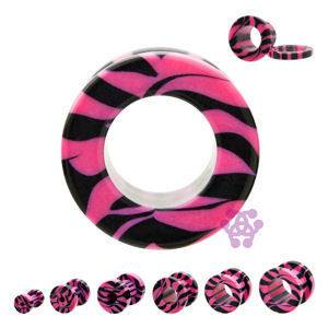 Screw-on Zebra Striped Tunnels