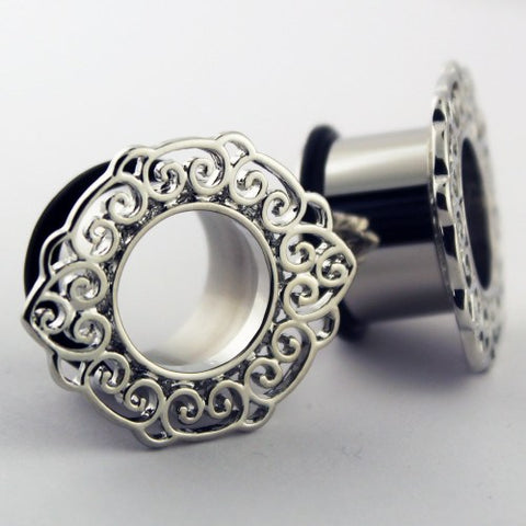 Silver Filigree Tunnels