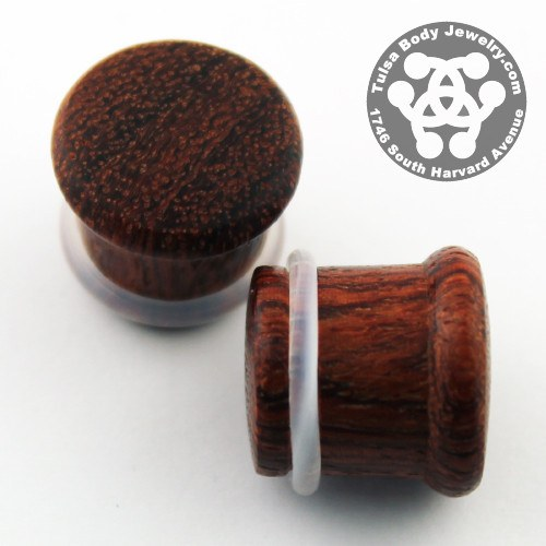 Bloodwood Single Flare Plugs by Siam Organics