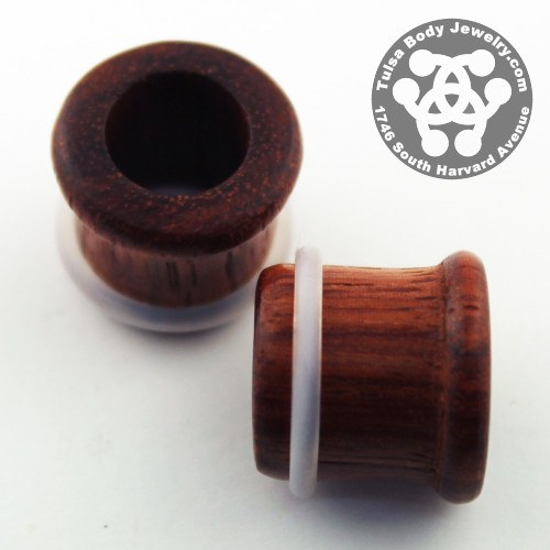 Bloodwood Single Flare Tunnels by Siam Organics