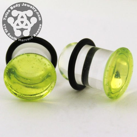 Slime Single Flare Plugs by Glasswear Studios