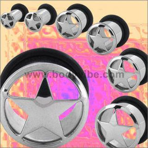 Single Flare Star Cutout Tunnels