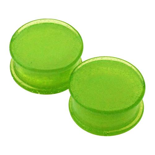 Plugs - Slime Solid Color Plugs By Glasswear Studios