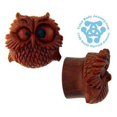 Spazzy Owl Plugs by Urban Star