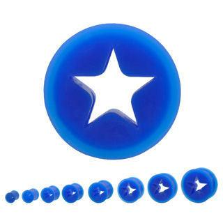 Star Cutout Silicone Tunnels