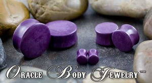 Sugalite Plugs by Oracle Body Jewelry