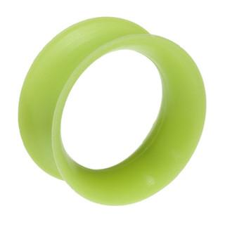 Plugs - Tropical Green Skin Eyelets By Kaos Softwear