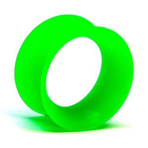 Plugs - UV Green Skin Eyelets By Kaos Softwear