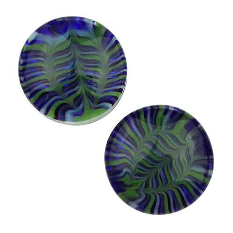 Plugs - Water Feather Plugs By Gorilla Glass