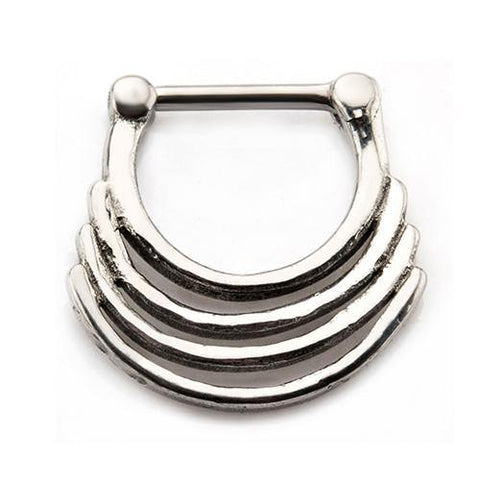 Stainless Quad Stack Septum Clicker