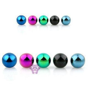 14g Anodized Steel Balls (2-Pack)