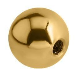 14g Gold Plated Balls (3-Pack)