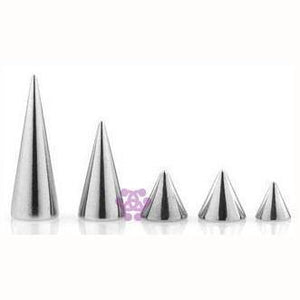 14g Stainless Steel Cones (4-Pack)