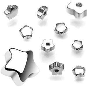 Replacement Parts - 14g Stainless Steel Stars (2-Pack)