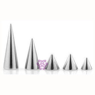 16g Stainless Steel Cones (4-Pack)