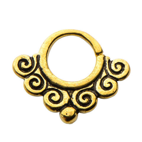 Cimex Brass Septum Ring