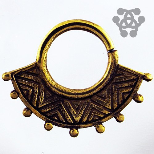 Septum - 14g Zen Brass Septum Ring
