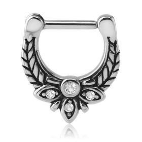 Septum - 16g CZ Laurel Septum Clicker