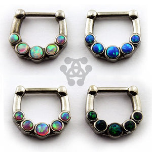 Five Opal Septum Clicker