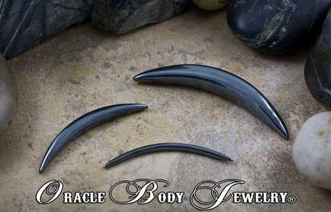 Hematite Septum Tusk by Oracle Body Jewelry