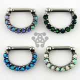 Opal Paved Septum Clicker