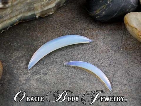 Opalite Septum Tusk by Oracle Body Jewelry