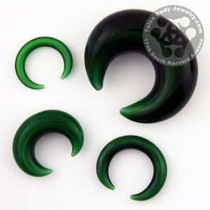 Rainforest Green Septum Pincer by Glasswear Studios