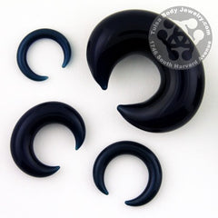 Satin Blue Septum Pincer by Glasswear Studios