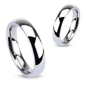 Stainless Wedding Band