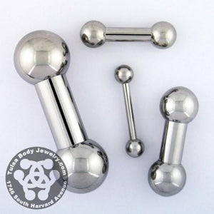 Straight Barbells - Stainless Straight Barbell By Body Circle Designs