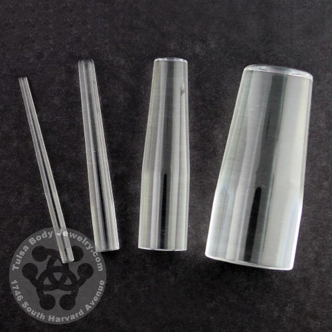 Clear Acrylic Taper by Industrial Strength