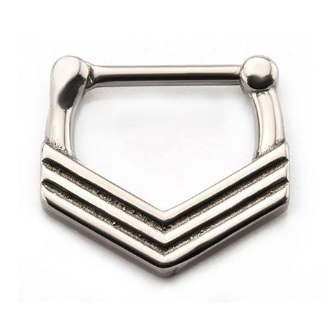 Stainless V-Stack Septum Clicker