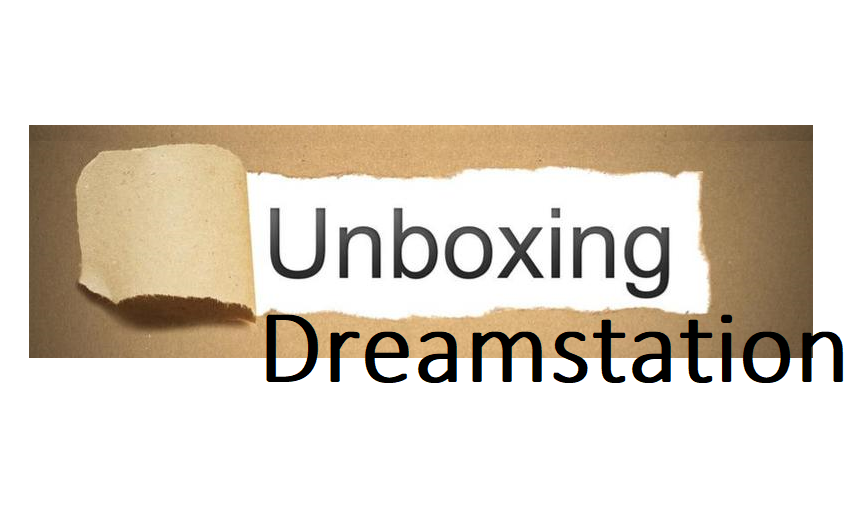 Unboxing Dreamstation Auto Package
