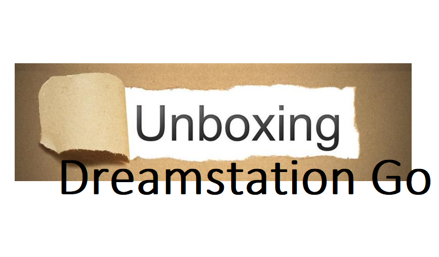 Unboxing Dreamstation Go Travel CPAP Machine